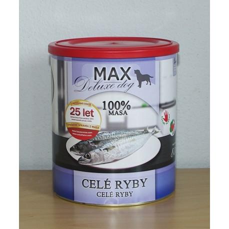 MAX celé ryby DL 800g