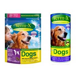 Verm-X Dog pelety+treats AKCE