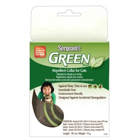 Sergeant´s Green obojek pro kočky