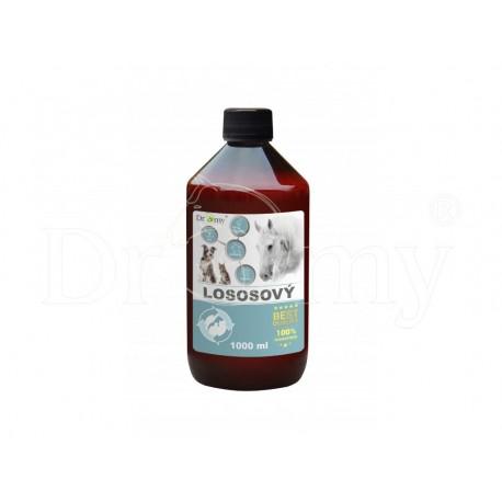 Lososový olej 1000 ml + pumpička