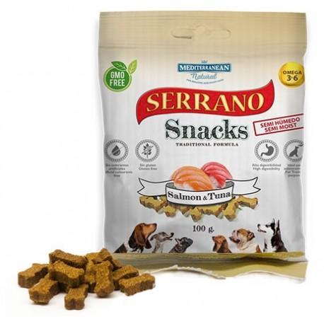Serrano Snack losos-tuňák 100g