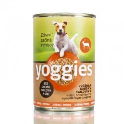 Yoggies Zvěřina s dýní a pupalkovým olejem 400g