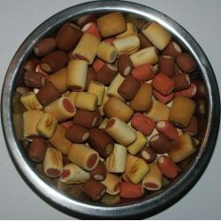 Sušenky MIX trubička 500g