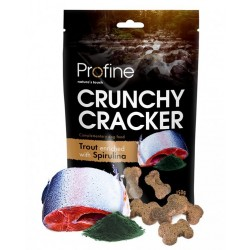 Crunchy cracker pstruh/spirulina 150g