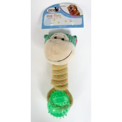Přetahovadlo míček TPR opička